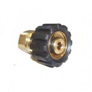 "M22/14mm Female X 3/8"" BSP Female Pressure Washer Screw Coupling"