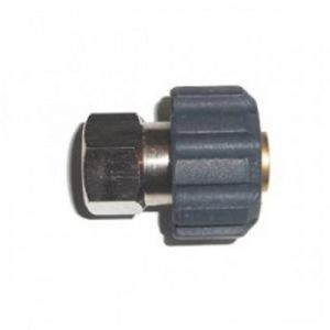 "M22/15mm Female X 3/8"" BSP Female Pressure Washer Screw Coupling"