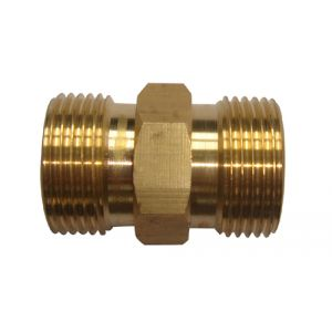 M22/15mm Male X M22/15mm Male Pressure Washer Coupling