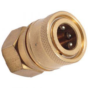 "Mini 11.6mm Quick Release Female Socket 1/4"" BSP Female"