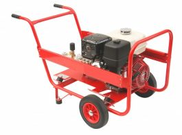 13HP Honda Petrol Industrial Pressure Washer 3000PSI 21 LPM - Cleantec Best Seller