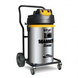 V-TUF Mammoth Stainless 240V Twin Motor Wet & Dry Vacuum Cleaner - Cleantec Best Seller