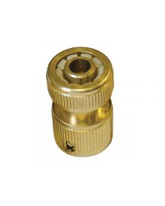 "1/2"" Hose Brass Hozelock Quick Release Inlet Socket Coupling"