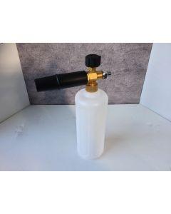 Mini Quick Release Male Plug Snow Foam Lance With 1L Detergent Bottle