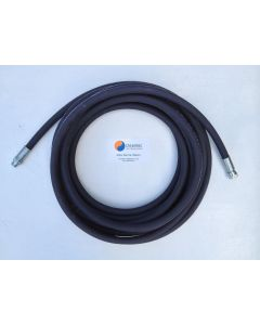 "3/8"" 2 Wire Pressure Washer Hose 3/8"" BSP Male/Female Ends"