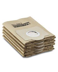 5 Pack Of Genuine Karcher Vacuum bags