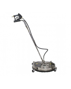 """24"""" BE Whirlaway Stainless Steel Pressure Washer Flat Surface Cleaner"""