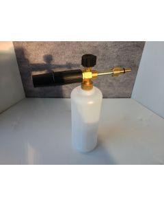 Aldi Workzone Snow Foam Lance With 1L Detergent Bottle