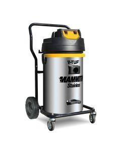 V-TUF Mammoth Stainless 240V Twin Motor Wet & Dry Vacuum Cleaner