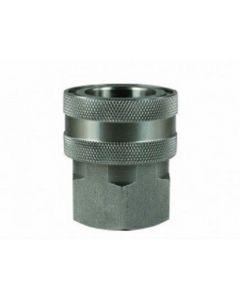 "Stainless Steel 19.4mm Quick Release Female Socket 3/8"" BSP"